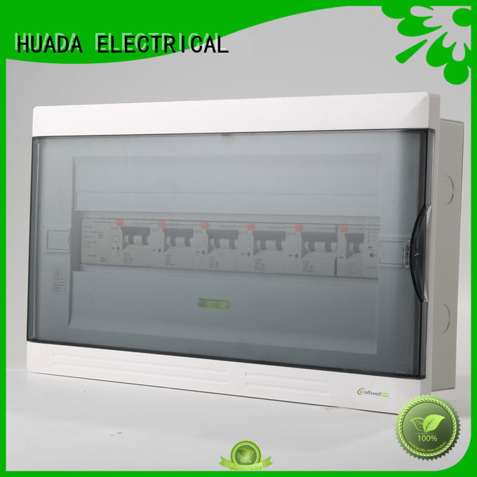 HUADA ELECTRICAL smart distribution led backlight panel high safety school